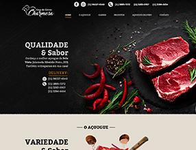 Açougue Casa de Carnes Charmosa - Projeto Hawkz